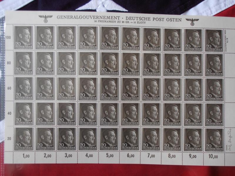 Planche de Timbres Adolf Hitler  729831P8160015