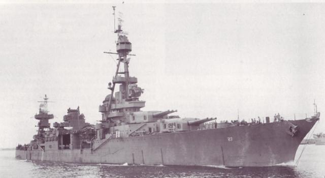 USN CROISEUR LOURD USS WICHITA 730145USSChester4