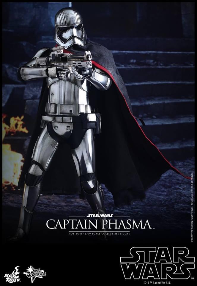 HOT TOYS - Star Wars: TFA - Captain Phasma 730340106