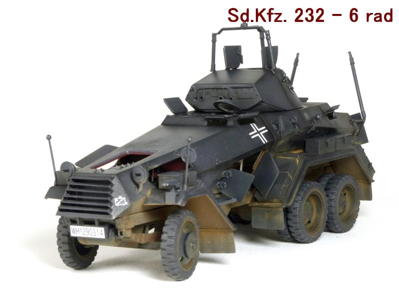 Sd.Kfz. 232 6 Rad - France 1940 - Italeri 1/35 730408P1030994
