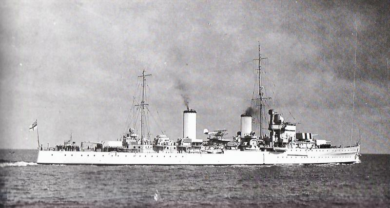 ROYAL NAVY CROISEURS LEGERS CLASSE ARETHUSA 730586HMSGalatea1937
