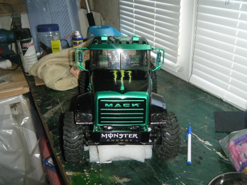 Mack 6x4 Monster Energy (FINI en attente d'un arceau) 731245DSCF3034