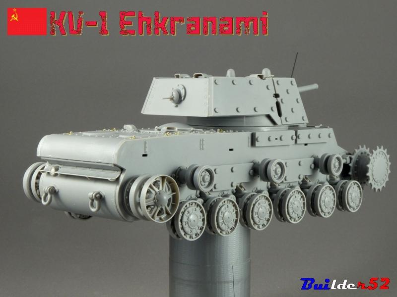 KV-1 Ehkranami  -  TRUMPETER 1/35 731512P1030098
