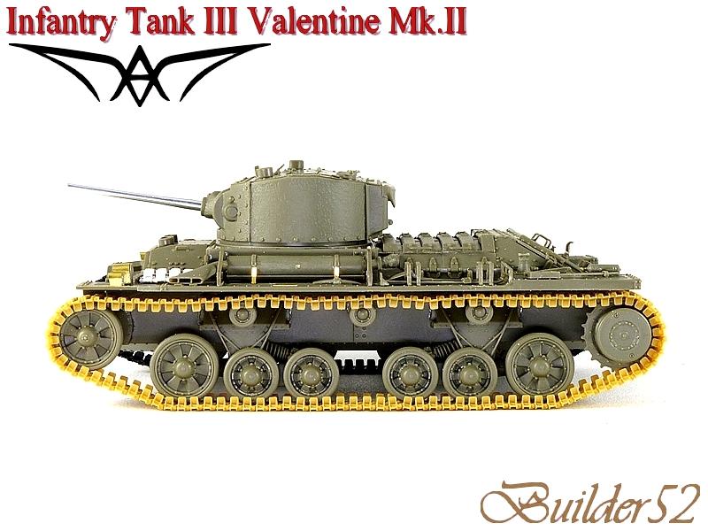 Infantry Tank III Valentine Mk.II - AFV CLUB 1/35 732590P1050406