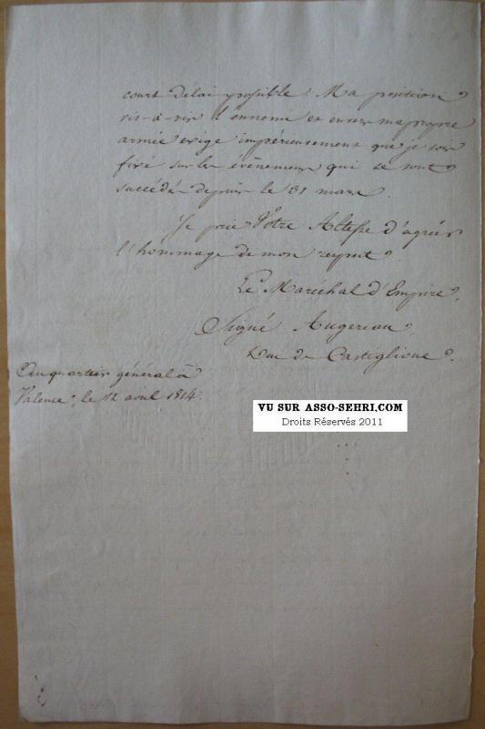 la campagne de 1814 - armée des Alpes 732611IMG8816