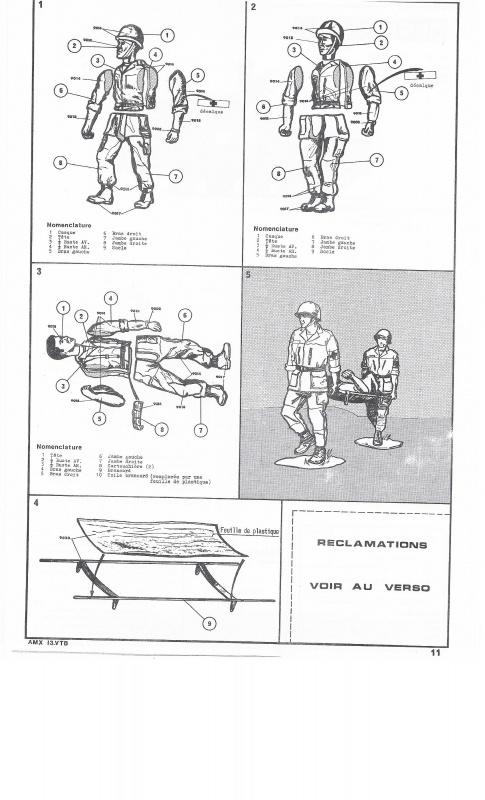 AMX 13 VTB - (Réf. L787) 1/35 734590VTB011
