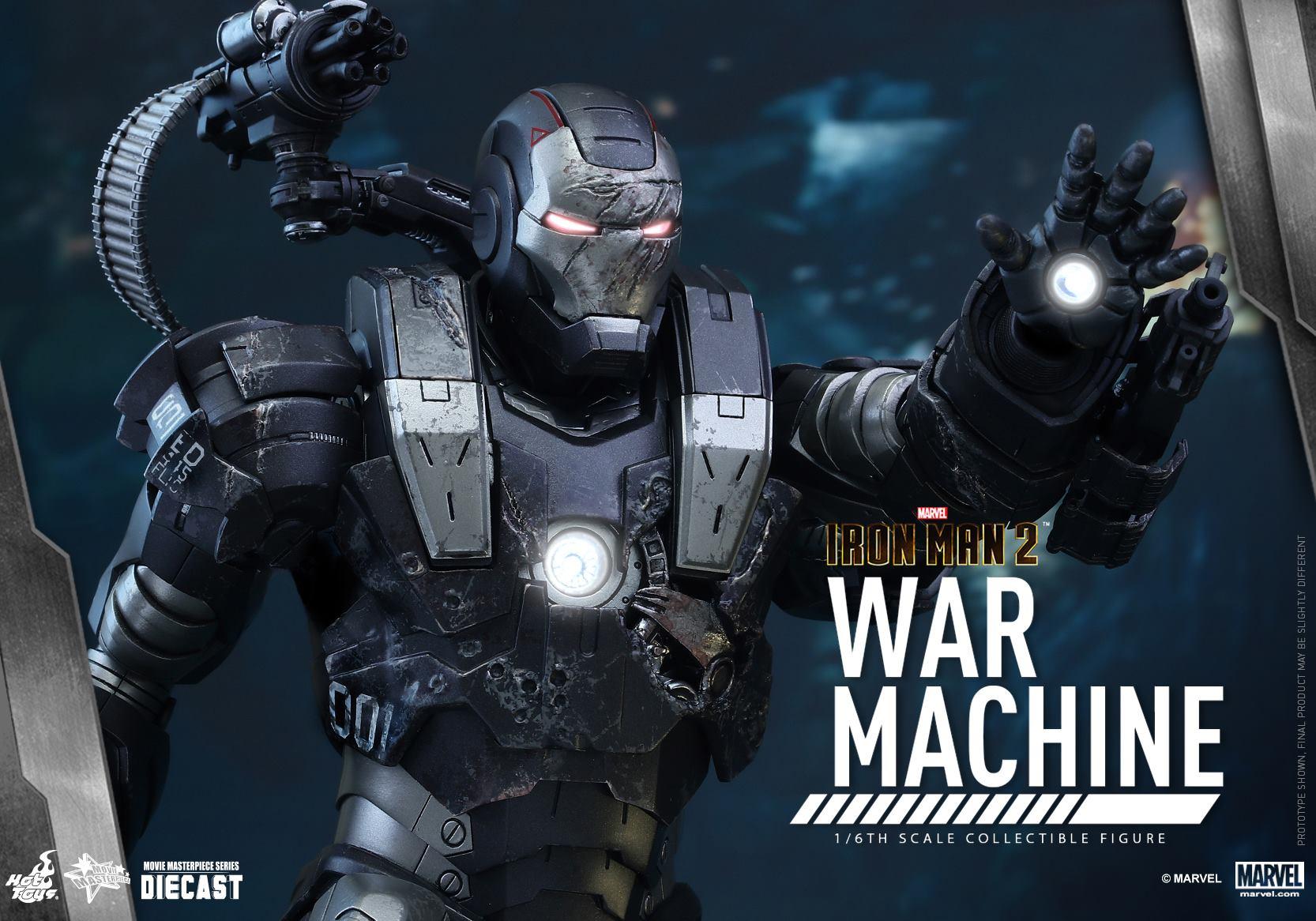 HOT TOYS - Iron Man 2 - War Machine Diecast 735725102