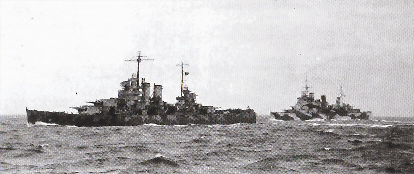 USN CROISEUR LOURD USS WICHITA 735954USSWichitaLondon