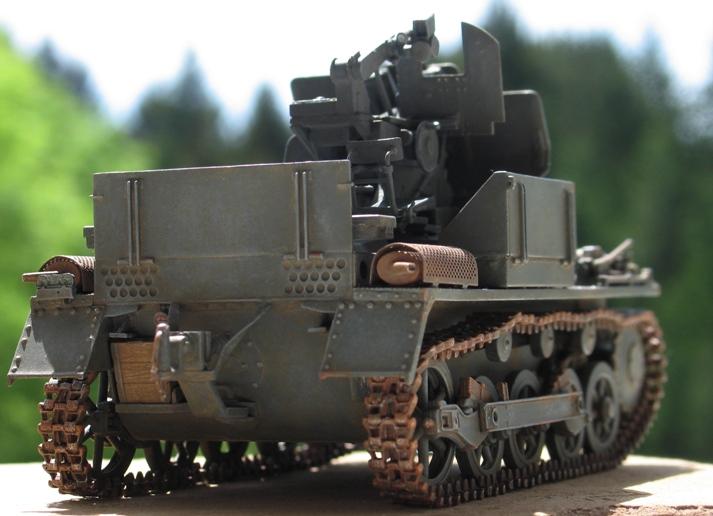 Flakpanzer I Dragon 1/35 736134modles116004