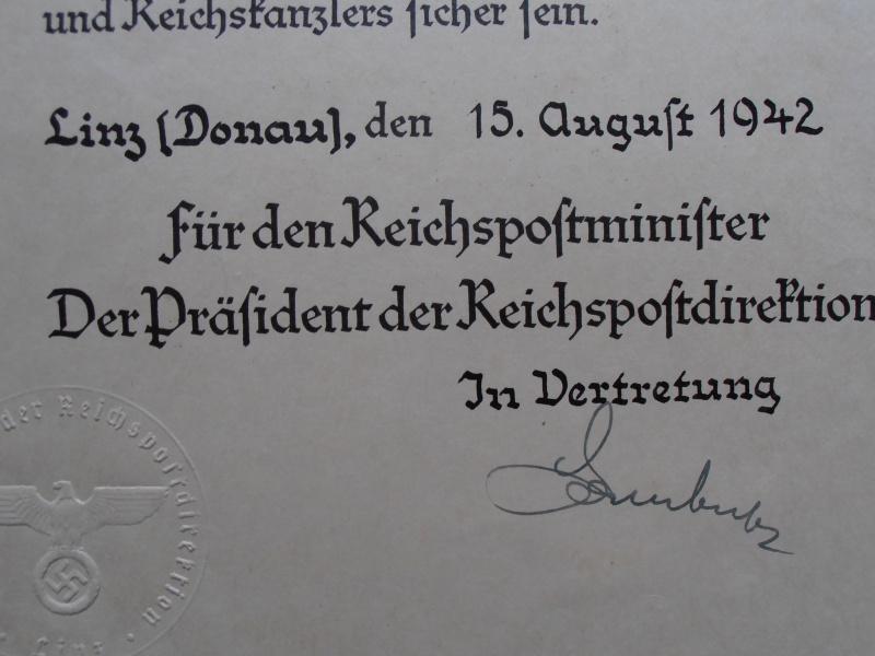 Quelques documents Allemands 738084P6210018