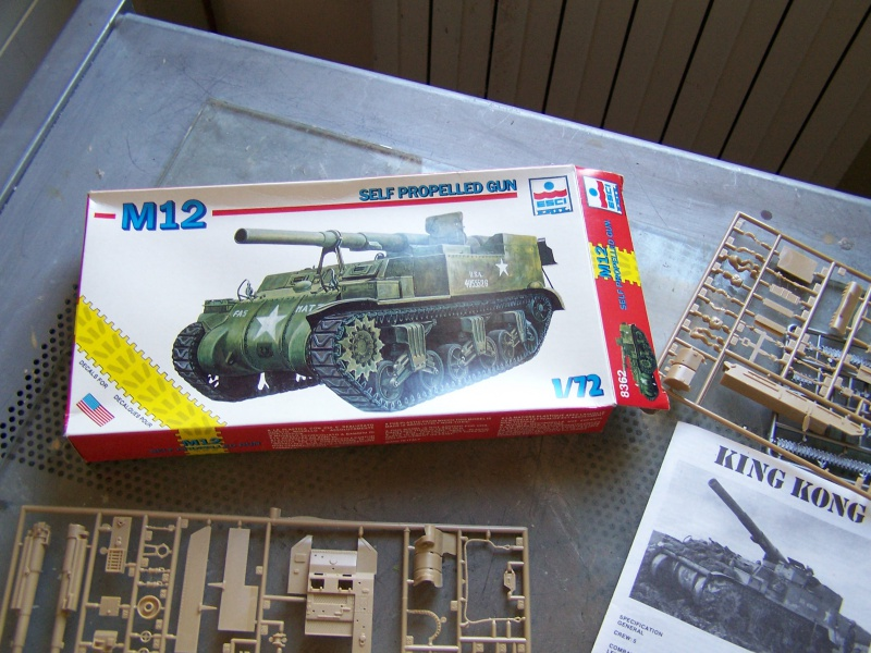 Automoteur Us M12 155mm Normandie 44 (terminé) 7383451006927