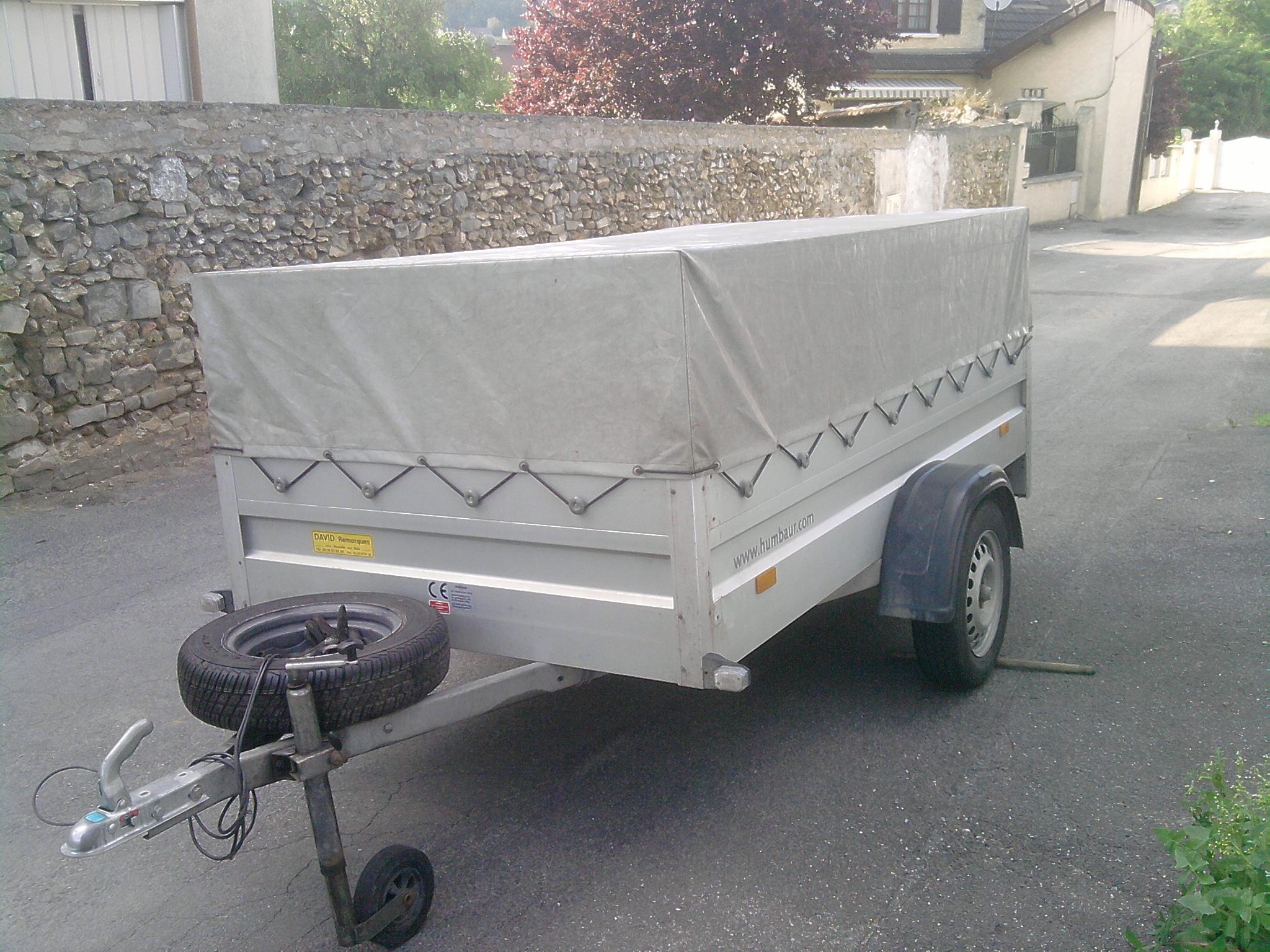 Vends,Echange Remorque Humbaur 2009 ( vendue ) 739697P1705131851