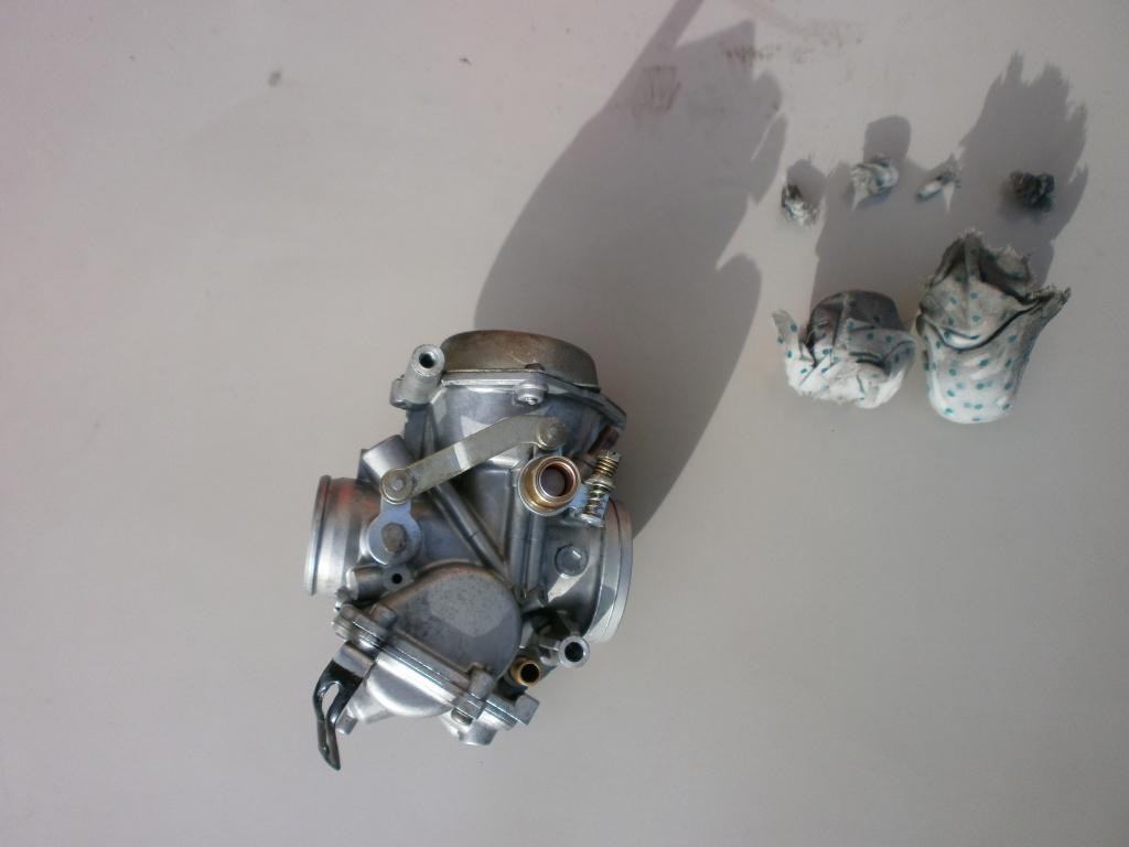 Nettoyage carburateurs de transalp 600 740760P2140006