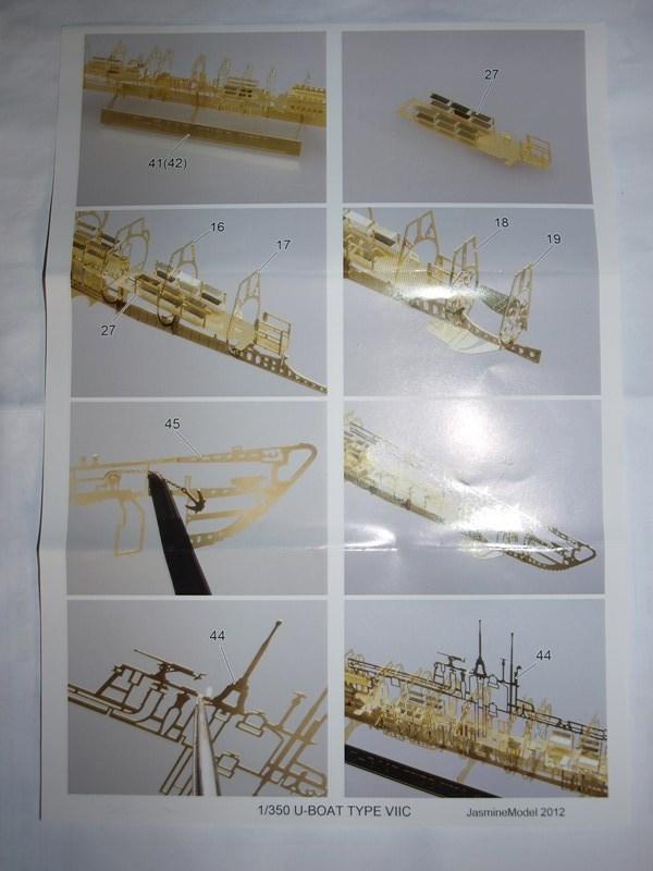 U boat VIIC  au 1/350 741493P4304529Copier