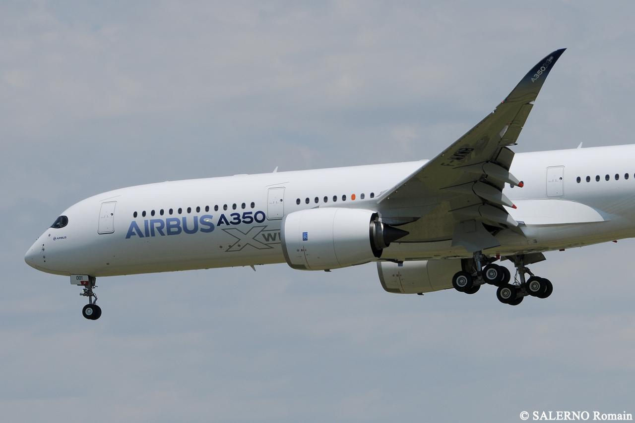 [14/06/2013] Aéroport Toulouse-Blagnac (LFBO): 1er Vol de l'Airbus A350 XWB !!! 741986DSC1248