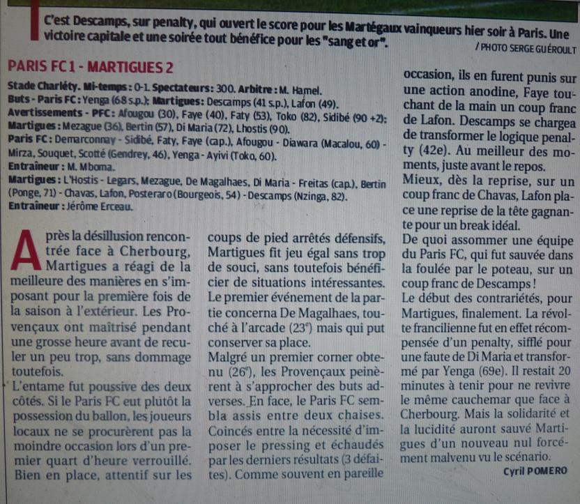 PARIS FC - Page 2 742294P1220547