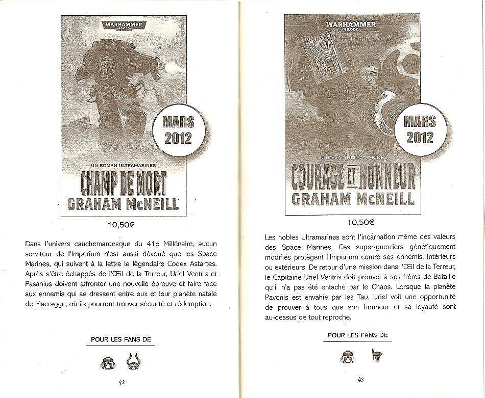 Champ de mort / Courage et Honneur (Uriel Ventris Tome 4 et 5) 742350lapart3