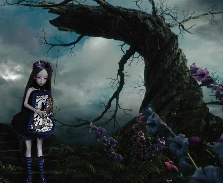 Nymeria (Sixtine Dark Tales Dolls) nouveau make-up p8 - Page 4 742586regardelamontre