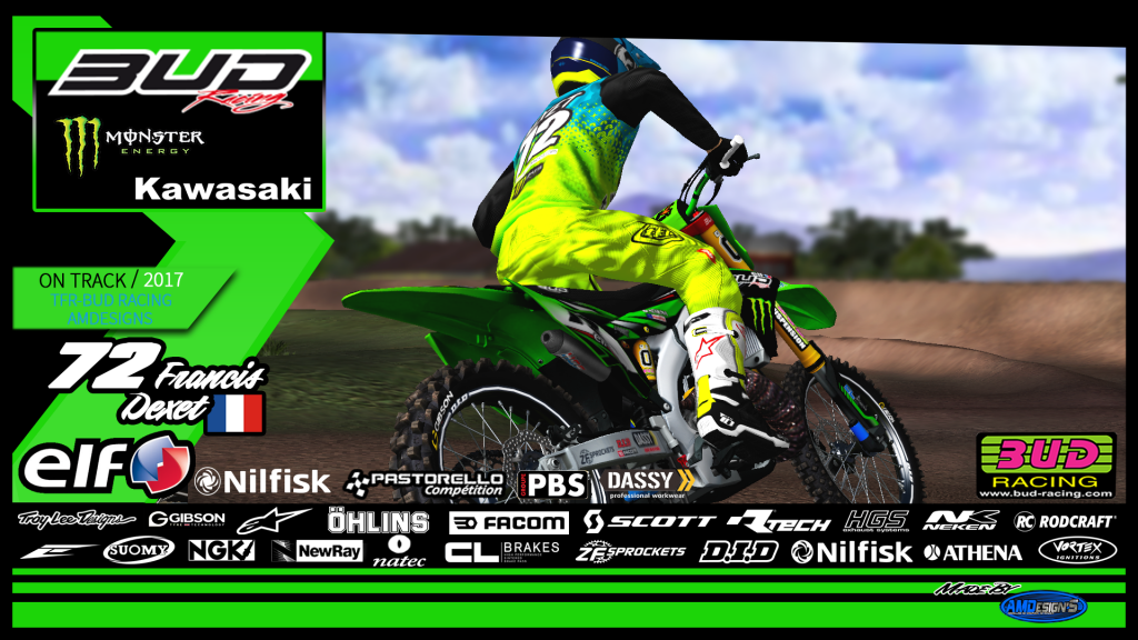 2018 Team BUD RACING By AMDesign'S 744054AffichepiloteFrancis72