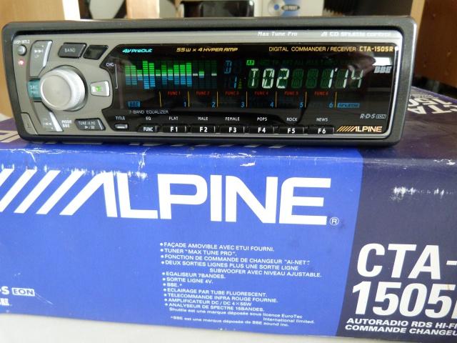 //////Alpine CTA 1505, un super tuner pour un système évolutif! 744180P1130655