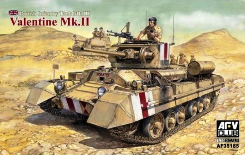 Infantry Tank III Valentine Mk.II - AFV CLUB 1/35 744576af35185