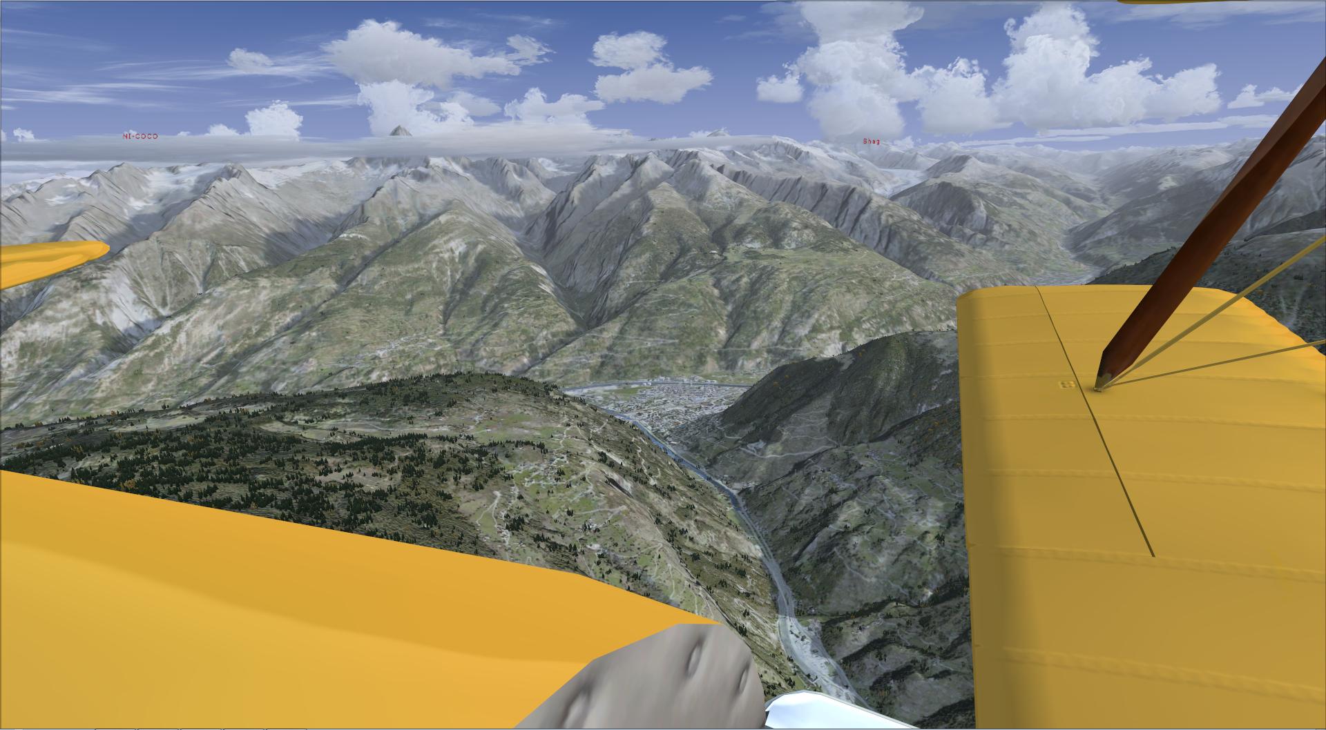 Compte rendu aéroclub. Le passage des alpes 74532720149711162828