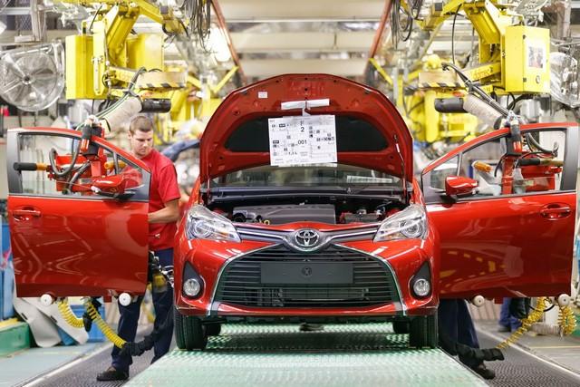 Neuf millions de véhicules produits par les usines Toyota d'Europe 745394YARISTMMFValenciennes
