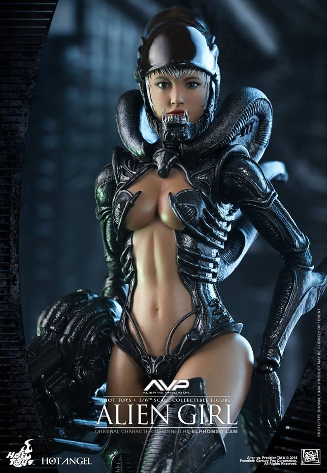 HOT TOYS - AVP - Alien Girl 746870108
