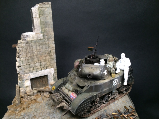 """Le laxatif"" - M8 Howitzer unité ""Hell on Wheels"" - 2nd Armored division, Normandie - Tamiya 1/35 747395IMG3475"