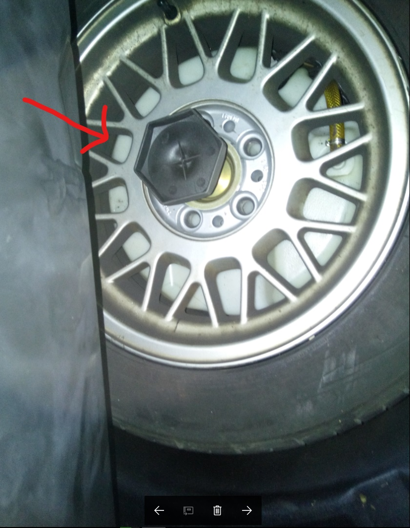 cale pour roue de secours 7487802017091010h5007LI