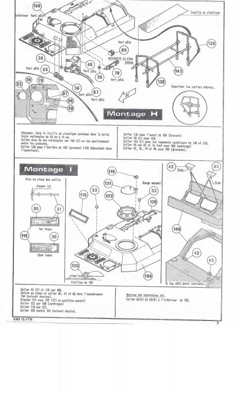AMX 13 VTB - (Réf. L787) 1/35 748909VTB007