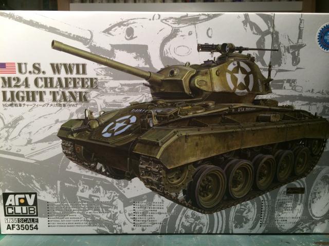 M24 Chaffee light tank, AFV Club 1/35 749053IMG35511