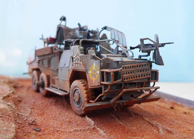 """Coyote"" post apocalypse - Conversion base Airfix - 1/48. 749127Coyote36"