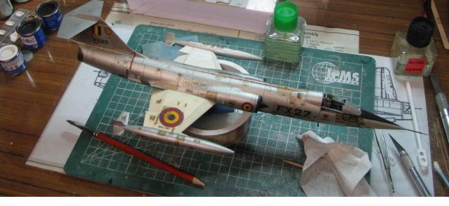 DUO: F-104N (NASA) + F-104G (BAF) Hazegawa 1/48  749419IMG54312