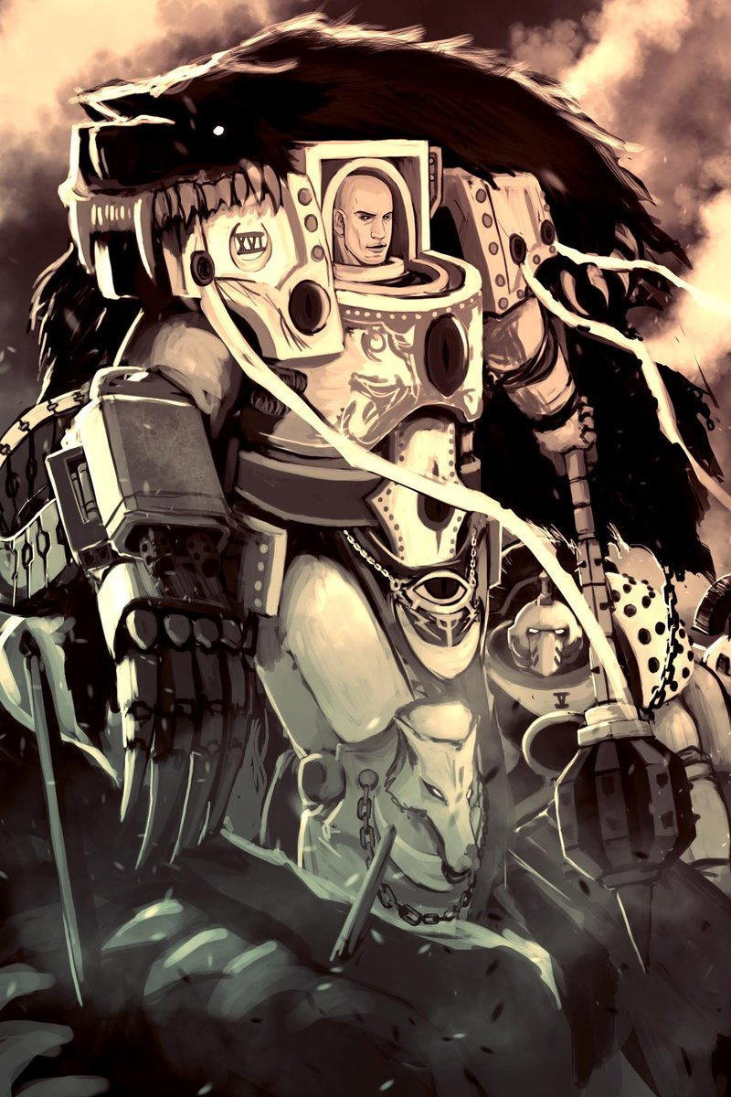 [W30K] Collections d'images : Les Primarques 749430TheWarmasterbyDeadXCross