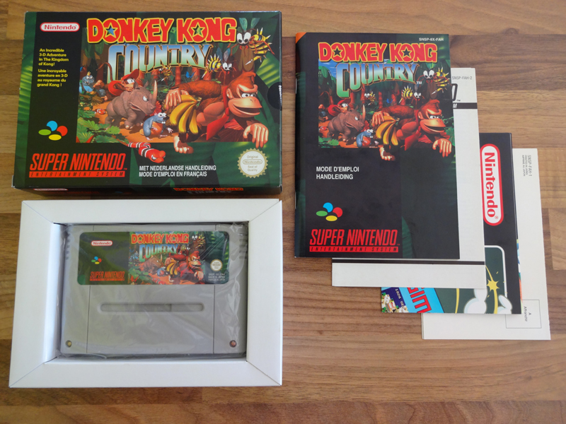 Prupru's Collection ! 100% Super Nintendo et 200% Super Comboy !! - Page 17 751466DonkeyKongCountryFAH