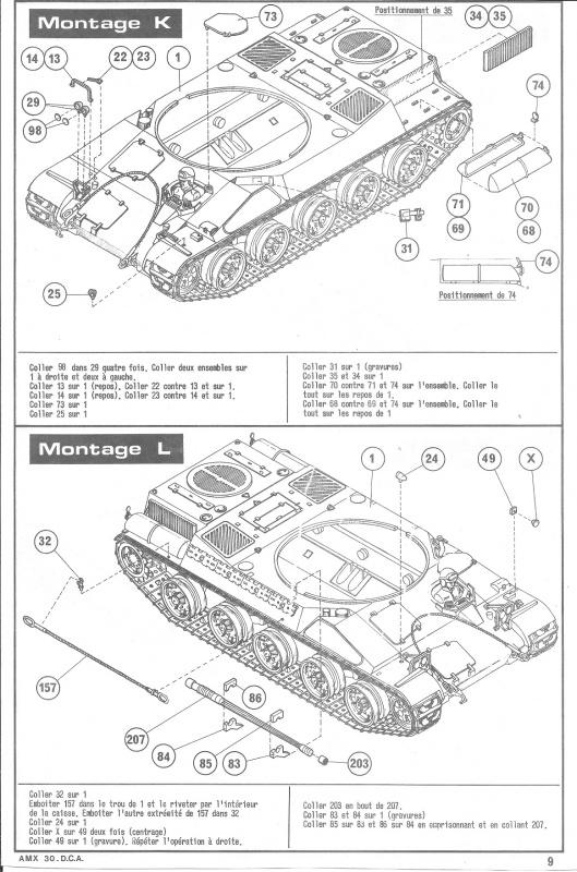 AMX 30 DCA - (Réf. L811) 1/35 751943HellerAMX30DCA811009