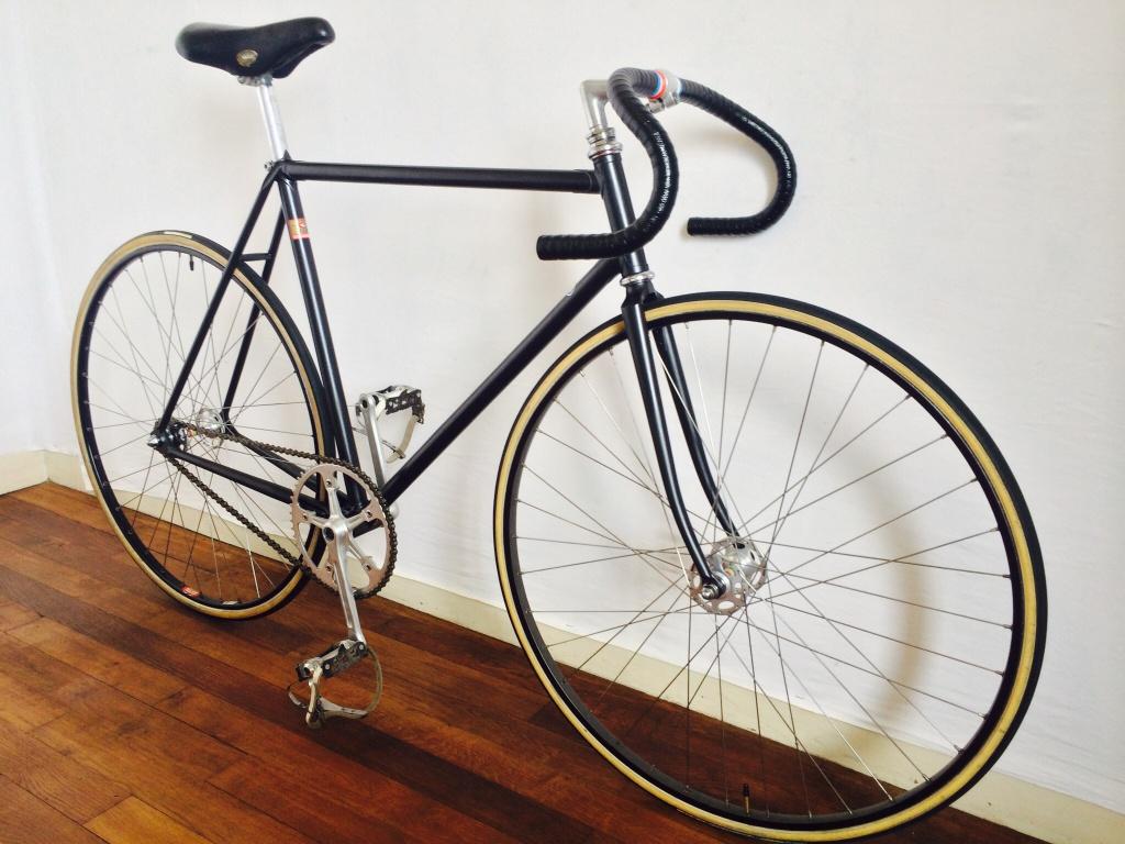 Vélo de piste Jean Marie Brun Tubes Columbus 752065image