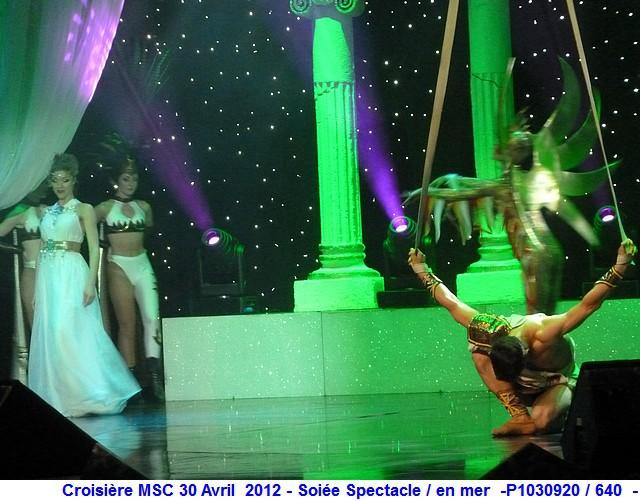 MSC Splendida Du 28 avril au 5 mai 2012 Gêne Barcelone Tunis La valette Taormine Messine Rome 753263P1030920