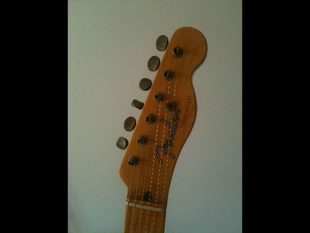 """Fender Custom Shop Telecaster 52 HB Relic """"Time Series"""" 754033Teletteface"""