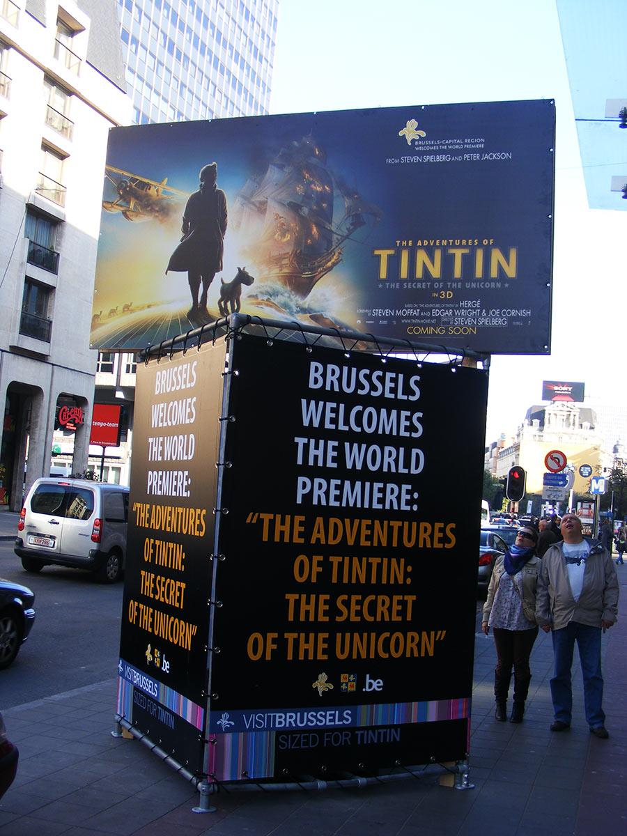 """Bruxelles côté BD  """"Tintin en automobile"""" 755336DSCF6085"""