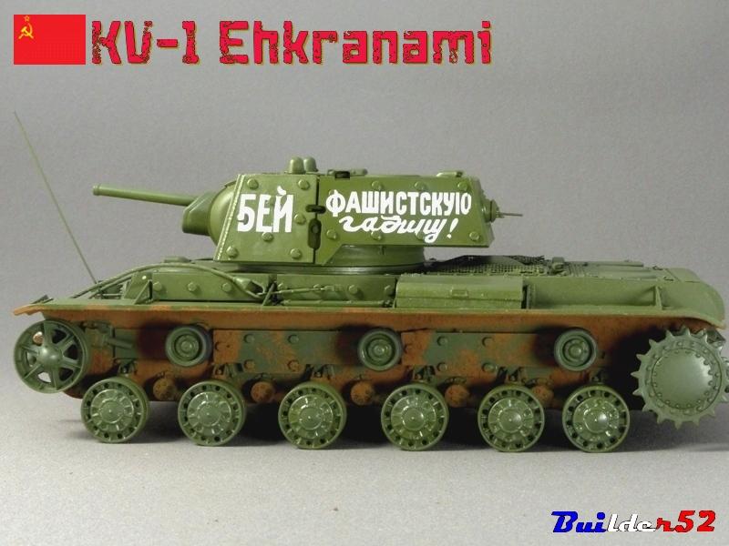 KV-1 Ehkranami  -  TRUMPETER 1/35 - Page 3 755394P1030292