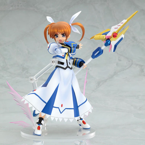 [Figurine] Actsta - Magical Girl Lyrical Nanoha The MOVIE 1st: Nanoha Takamachi 1/8 Scale actsta Action Figure 755620lyricalnanohafiguregoodsmilecompany5