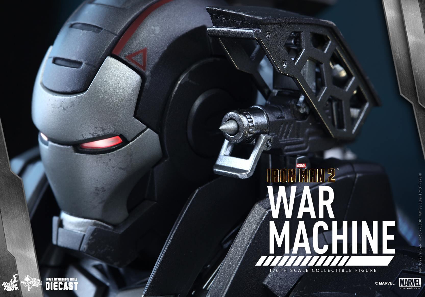 HOT TOYS - Iron Man 2 - War Machine Diecast 755621115