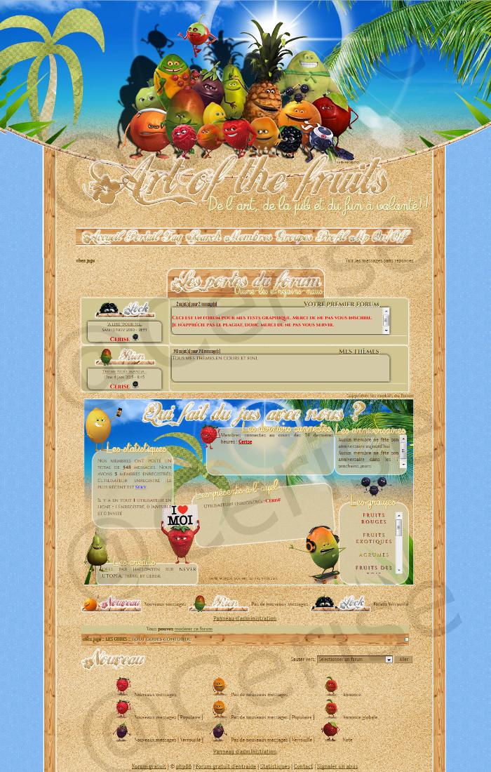 Les thèmes de Art of the fruits. 758307apperu