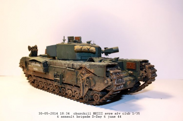 Churchill avre mk3  de chez afv club 1/35 - Page 2 759065IMG2382
