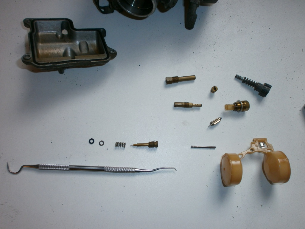 Nettoyage carburateurs de transalp 600 759373P1280011
