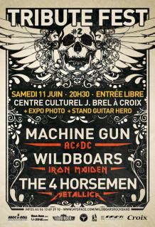 """The 4 Horsemen """"Summer Show"""" Nevers 58 / Croix 59 / Hellfest 7598071979101015014190165993155366493062605396571886n"""