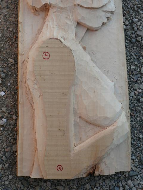JJ - bas relief d'un nu (2013) 760343057