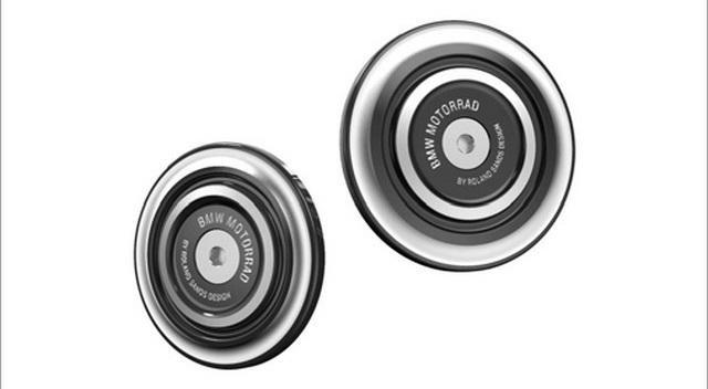 BMW Motorrad : accessoires « Machined » pour les BMW R NineT. 760422recouvrementroulementdebras